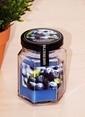 Mizzy Home Cam Kavanozda Kokulu Mum-Blueberry Renkli